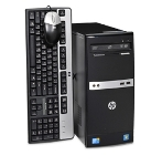 HP 500B XZ776UT Desktop PC