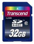 Transcend 32 GB Class 10 SDHC
