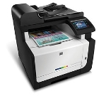 HP CE862AR#BGJ Color Laser Jet CM1415fnw Wireless Multifunction Printer