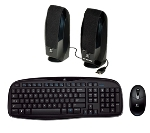 Logitech 920-001200 Cordless Desktop EX100 and Speakers S150