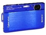 Sony Cyber-Shot DSCTX1/L Digital Camera – 10.2 Megapixel, 4x Optical Zoom, 3.0″ LCD, 11MB Internal Memory, USB Slot, HD Movie, Blue
