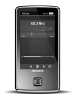 "Archos 501717 Vision 30C 4GB MP4 Player – 3"" Touch Screen, FM Radio, Voice Record, Built-in Microphone"